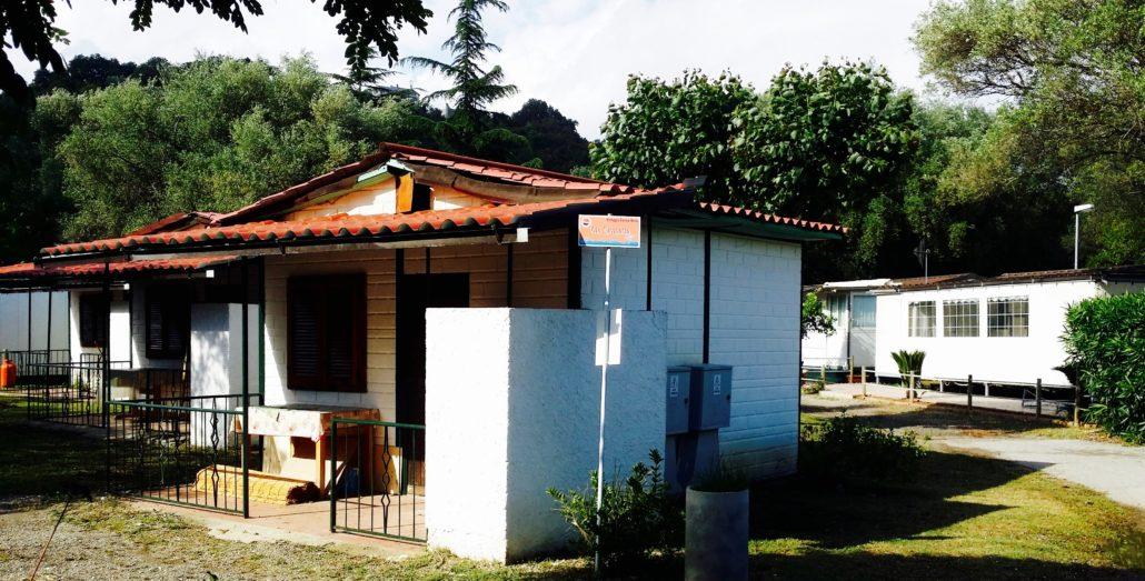 Bungalow 4 posti Europa Unita Camping Village by Solemare Project - Villammare (Vibonati - SA) bandiera blu 2016