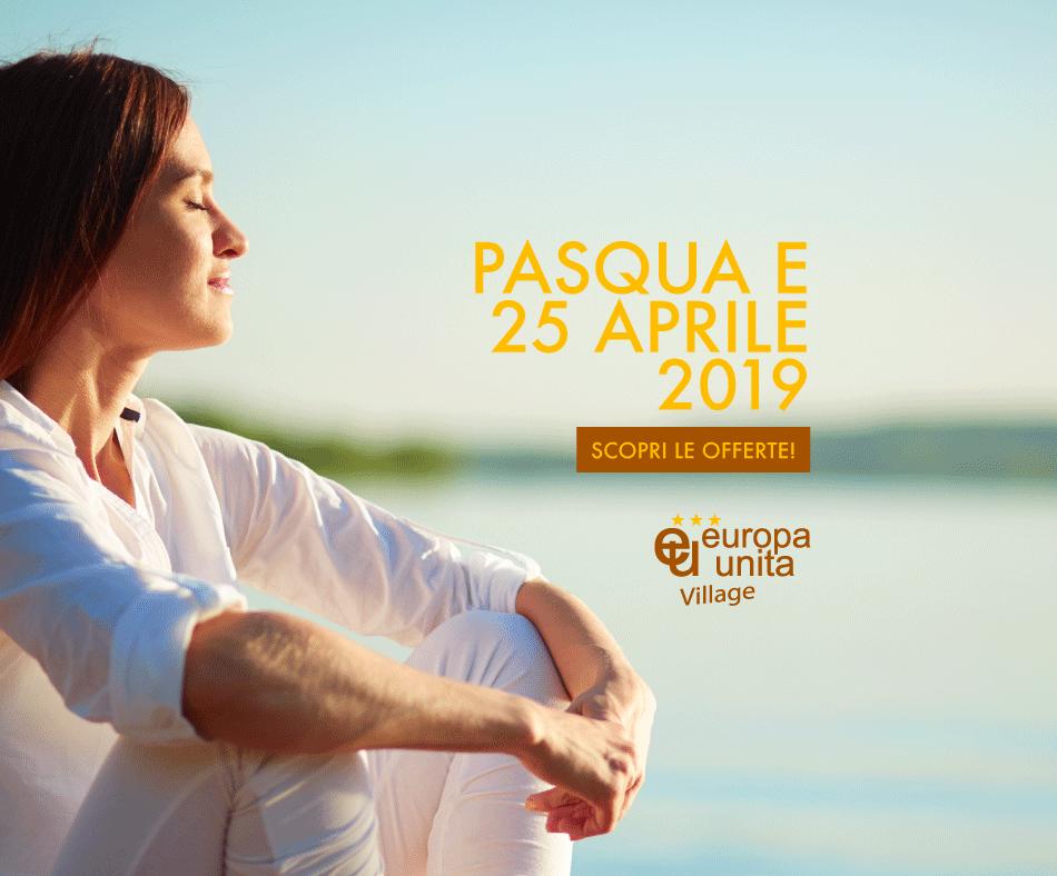 Ponte di Pasqua e del 25 Aprile: scopri la nostra offerta!
