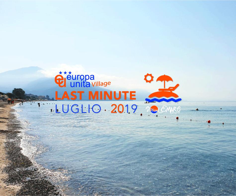 Last minute da sogno in Cilento 14-28 Luglio!